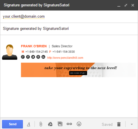 SignatureSatori - central signature management for G Suite