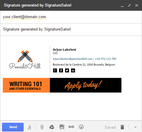google apps email templates - signaturesatori central signature management for g suite