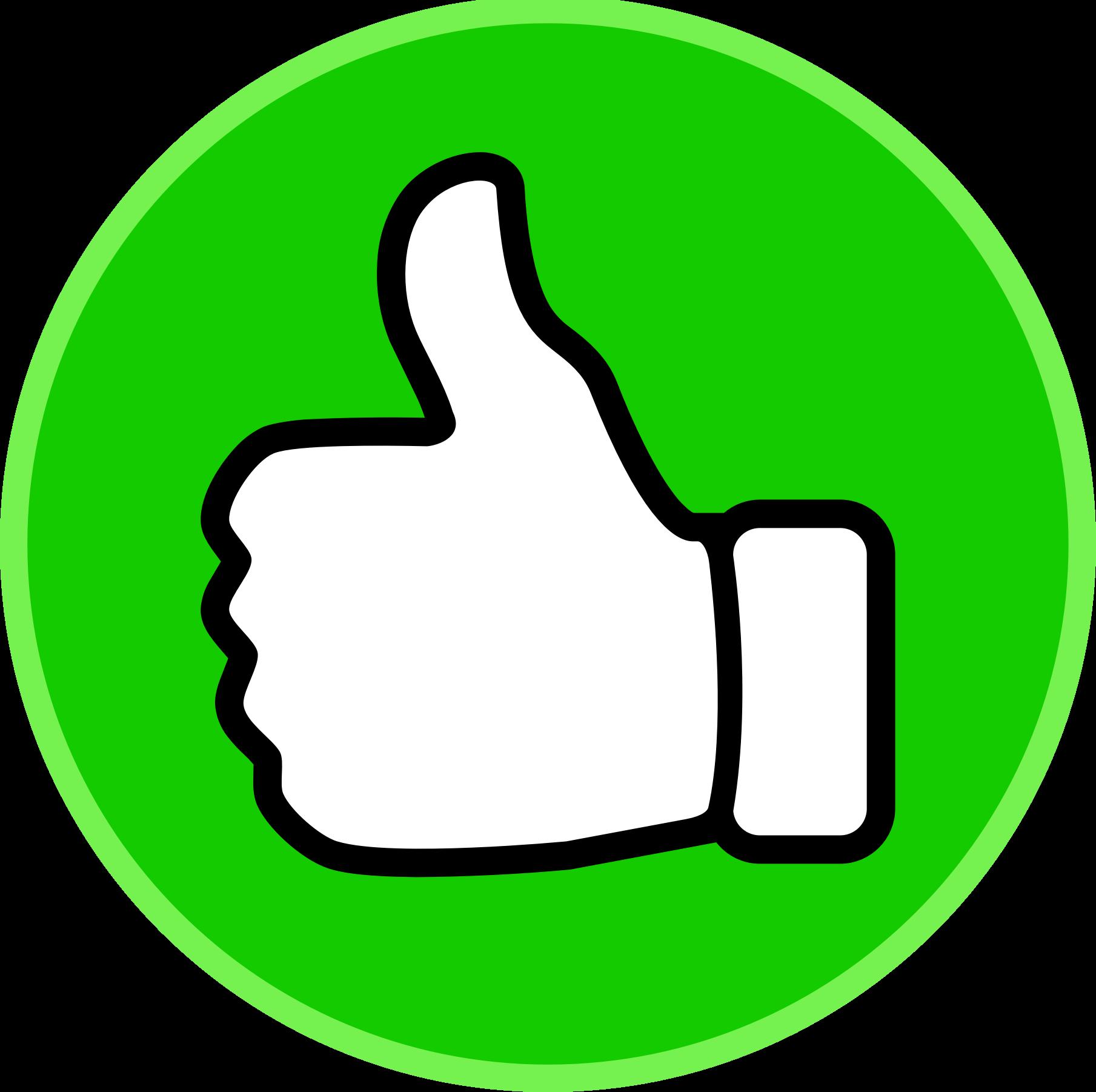 Thumbs-up-clipart-2 - SignatureSatori - manage your G ...